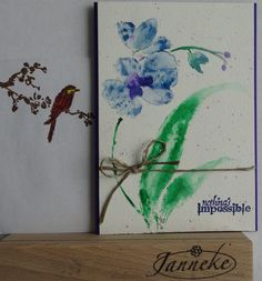 Stamps from Penny Black. Text from the Stamping Cottage