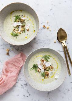 A Cold Cucumber Yoghurt Soup — Sonja Dahlgren - Matstylist   Matfotograf   Receptkreatör Göteborg - Food Stylist   Food Photographer   Recipe Developer