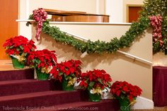 Church Christmas Decorations - Tabernacle Baptist Church, Macon, GA : Tabernacle Baptist Church, Macon, GA