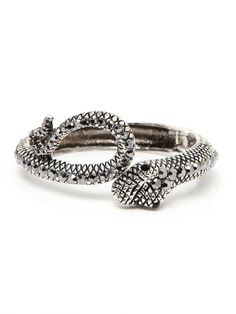 Just snagged this awesome #snake #cuff from BaubleBar. Sign up here: http://bit.ly/wZO8jy