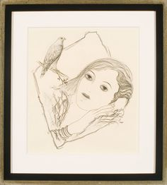 Toyen. Untitled c. 1943, Graphite and graphite frottage on paper. 10 x 9 in. (25.4 x 22.9 cm). Roy and Mary Cullen Art Collection.