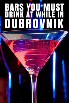 The best wine & cocktail bars of Dubrovnik | Travel Croatia Guide