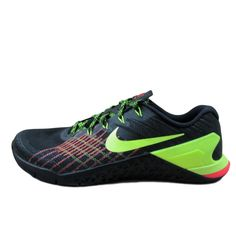 1c5bc1694b05 Nike Metcon 3 Training Shoes Size 10.5 Mens Black Volt Hyper Crimson 852928  012  Nike  AthleticSneakers