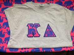 Sorority letter shirt jersey with Lilly by PersonalizedSunshine, $34.99