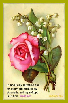 In God is my salvation ...