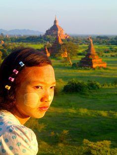 Portrait at Bagan