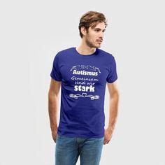 Autismus - gemeinsam sind wir stark. Tolle Shirts und Geschenke zur Unterstützung von Autisten. Auch in englisch erhältlich. #autismus #autist #autisten #autistisch #asperger #aspergersyndrom #stark #gemeinsam #support #unterstützung #familie #liebe #sprüche #shirts #geschenke