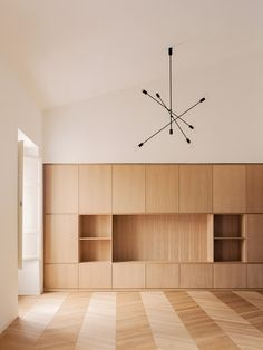 House for a Couple By SET Architects – Home Decor Apartment Home Interior, Interior Architecture, Wooden Window Frames, Casa Patio, Apartment Renovation, Architect House, Interiores Design, Shelving, Sweet Home