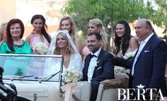 Beautiful Berta bride from our boutique in Athens, Greece