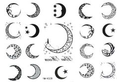 Halloween Christmas Moon 19style Totem Star Temporary Tattoos by Temporary Tattoos, http://www.amazon.com/dp/B009WFVG66/ref=cm_sw_r_pi_dp_.bntrb040Y3WW