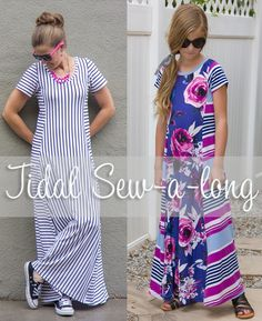 Welcome to the Tidal Sewalong! We'll be going step by step through the process of sewing a Tidal Top (or dress if you like). I'll also be including a free godet pattern piece that…