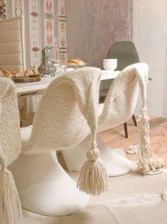knitted-crochet living I kötött-horgolt mindenfélék otthon