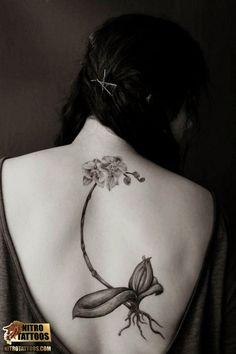 black orchid tattoos