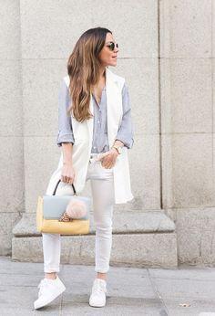 Hermosas zapatillas urbanas de mujer