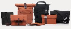Bluelounge Bags - classy and recycled