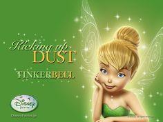 Wallpaper of Tinkerbell Wallpaper for fans of Tinkerbell. Tinkerbell wallpaper.