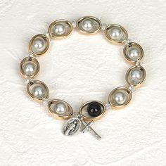 Encircled Stretch Rosary Bracelet