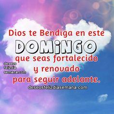 Centro Cristiano para la Familia:  Dios te Bendiga  Dios te bendiga en este Domingo,...