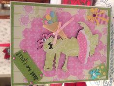 Birthday card (Cricut)