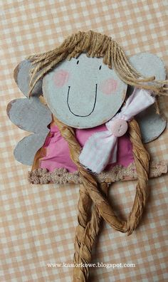Angel Crafts, Pin Pin, Angel Wings, Atc, Homework, Paper Dolls, Bookmarks, Collages, Folk Art