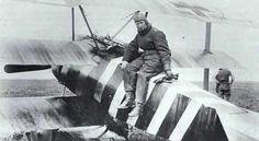 Rudolf Rienau with Fokker Dr.I