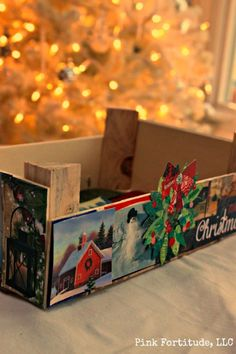 Recycle+Old+Christmas+Cards+With+This+Mod+Podge+DIY