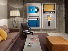 Lounge für die Besprechung im Loft Stil bei Rdio