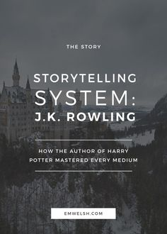 How J. Rowling mastered every storytelling medium (Get Him Back Writing Prompts) Book Writing Tips, Writing Process, Writing Resources, Writing Quotes, Writing Help, Poetry Quotes, Quotes Quotes, Writers Write, Writers Notebook