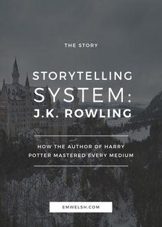 How J.K. Rowling mastered every storytelling medium