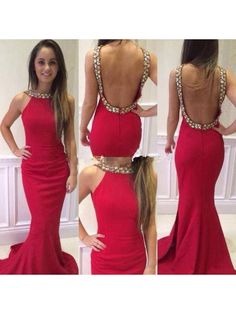Weddings & Events United Top Quality Red Lace Evening Dresses With Long Sleeve 2019 Slim Cut Backless Mermaid Formal Party Gown Vestido Longo Kaftan To Reduce Body Weight And Prolong Life
