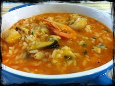 riz aux fruits de mer recette facile Rice Recipes, Pasta Recipes, Keto Recipes, Cooking Recipes, Healthy Recipes, Cooking Chef, Grilled Sardines, Shrimp Risotto, National Dish