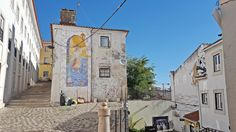 Rue dans le quartier de l'Alfama