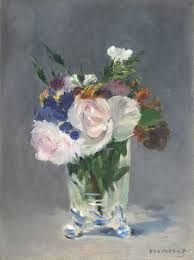Step 2 level 1  Edouard Manet flowers in a crystal vase c.1882 - Google Search