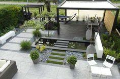 Giardini in stile moderno - Gazebo moderno