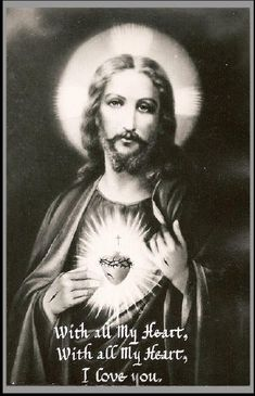 O most holy heart of Jesus, fountain of every blessing, I adore you, I love you, and with lively sorrow for my sins I offer you this poor heart of mine. Make me humble, patient, pure and wholly obedient to your will. Grant, Good Jesus, that I may live in you and for you. Protect me in the midst of danger. Comfort me in my afflictions. Give me health of body, assistance in my temporal needs, your blessing on all that I do, and the grace of a holy death. Amen.