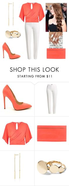 """""""Every moment is a fresh beginning.- T.S Eliot"""" by paoladouka on Polyvore featuring Basler, River Island, Jimmy Choo and Blue Nile"""