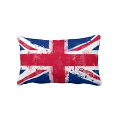 Flag of the United Kingdom, Union Jack Pillows