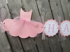 This listing is for a Ballet Birthday banner. This banner would be perfect for your ballet birthday party.  ***IF ADDING A NAME AND/OR AGE. PLEASE