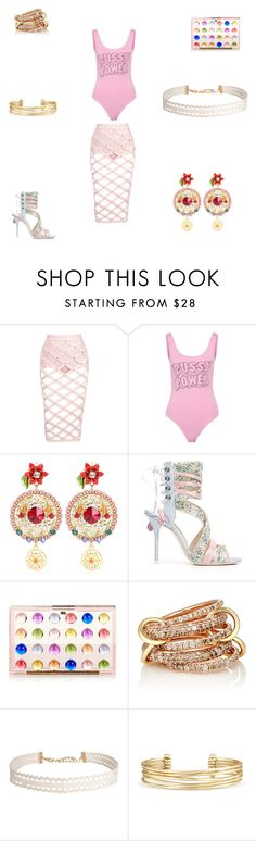 """""""The Birthday Girl"""" by panicsam ❤ liked on Polyvore featuring Bitching & Junkfood, Dolce&Gabbana, Sophia Webster, Mary Katrantzou, SPINELLI KILCOLLIN, Humble Chic and Stella & Dot"""