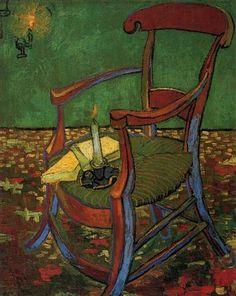Paul Gauguin s Armchair - Vincent van Gogh (1888) Van Gogh Museum, Amsterdam, Netherlands