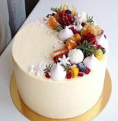 22 Ideas Fruit Cake Cupcakes Baking For 2019 Christmas Desserts, Christmas Baking, Christmas Decor, Christmas Cake Decorations, Christmas Ideas, Mini Cakes, Cupcake Cakes, Fruit Cupcakes, Winter Torte