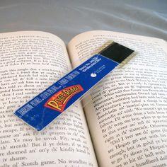 Who Framed Roger Rabbit Bookmark  Recyled Film by StalkingMarla