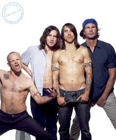 Red hot chilli peppers. :D