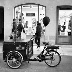 Triporteur Maille Bordeaux