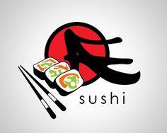 45 Super Delicious Sushi Logos Arte Do Sushi, Sushi Logo, Chopsticks, Logo Ideas, Fly Fishing, Logo Design, Sweets, Logos, Home
