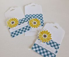 stampin with beemybear - Tags