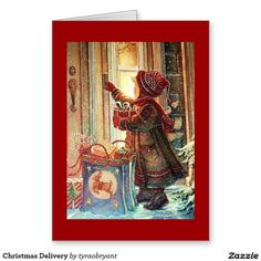 Christmas Delivery Greeting Card