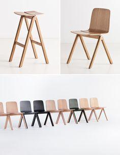Hay furniture line for the University of Copenhagen   Designer: Ronan and Erwan Bouroullec