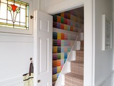 paint chips instead of painting a wall? love.love.love. perfect for rental home.