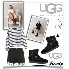 Boot Remix with UGG : Contest Entry by pat912 on Polyvore featuring moda, Topshop and UGG Australia